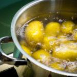 kochende Kartoffeln