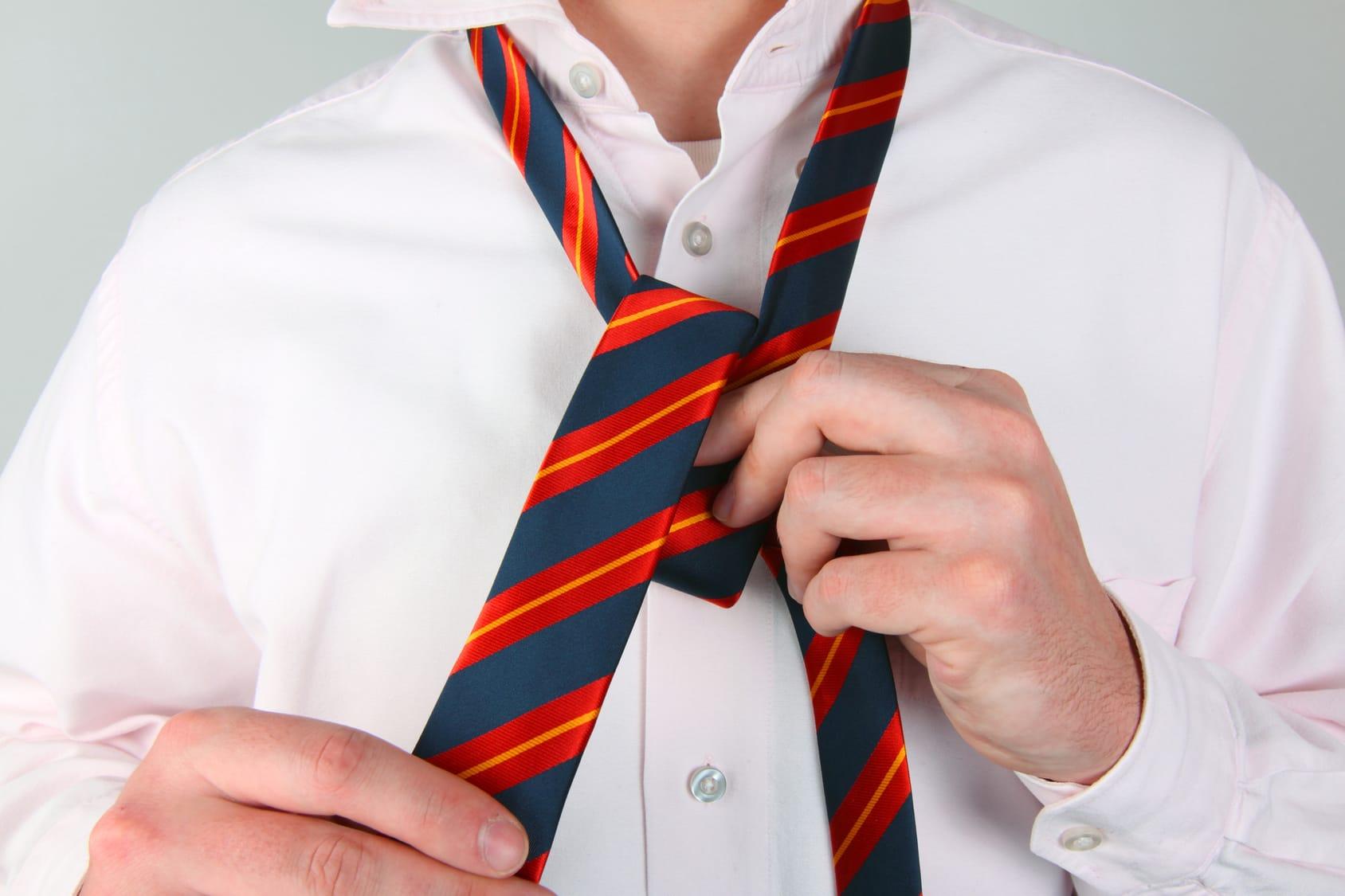 Krawattenknoten binden – So geht's!