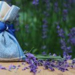 Duftsäckchen mit Lavendel.