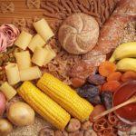 Verschiedene Lebensmittel für Trennkost.