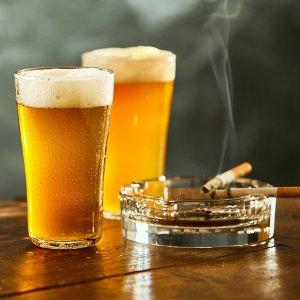 bier und zigaretten