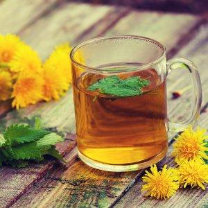 tee aus loewenzahn als hausmittel zum leber entgiften