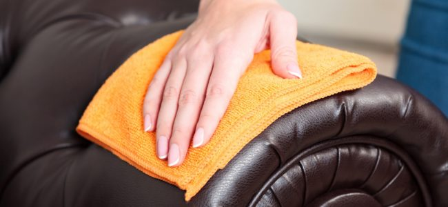 Lederpflege: Das müssen Sie beachten