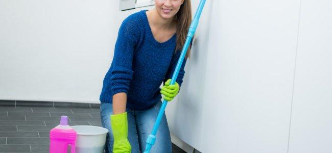Linoleum reinigen – 6 Tipps