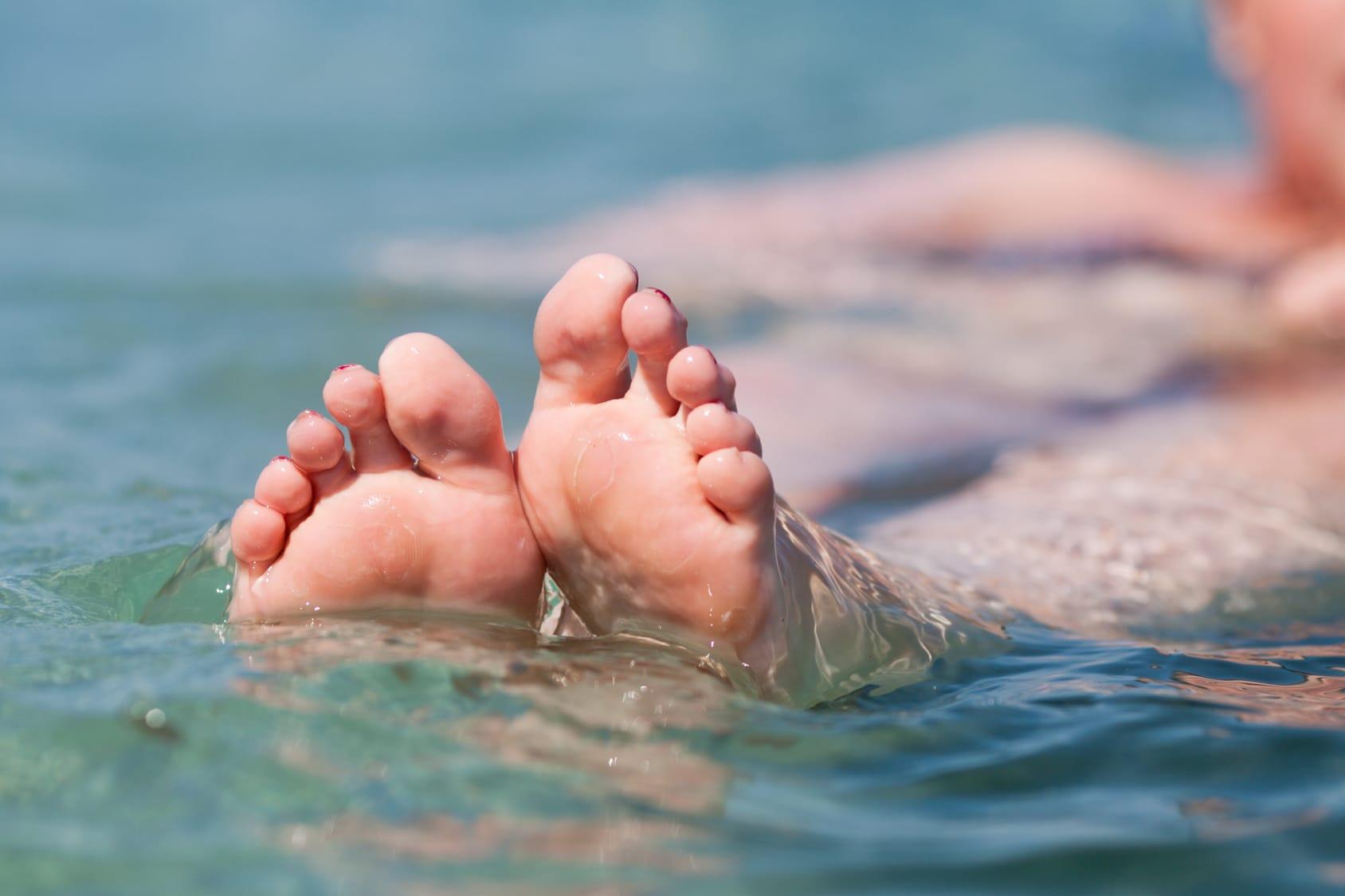 Ist Meerwasser gut für Wunden?