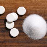 natron als pulver und tabletten