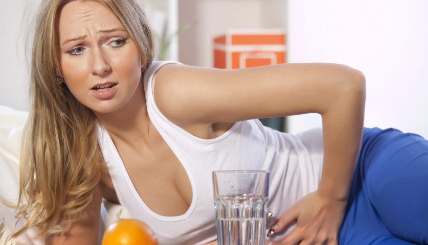 Verursacht zu viel Obst Bauchschmerzen?