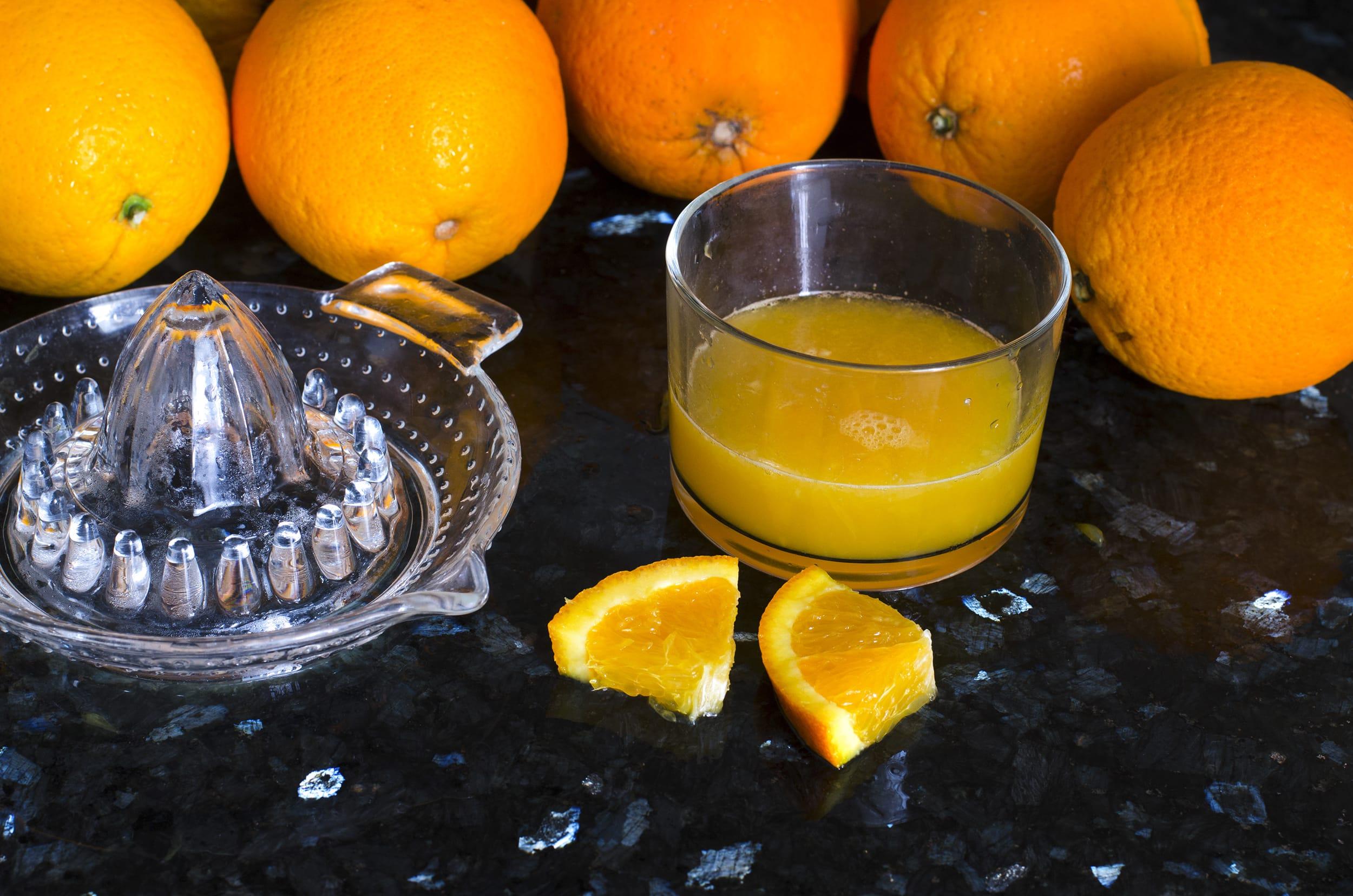 Orangensaft pressen – So erhöhen Sie den Ertrag!