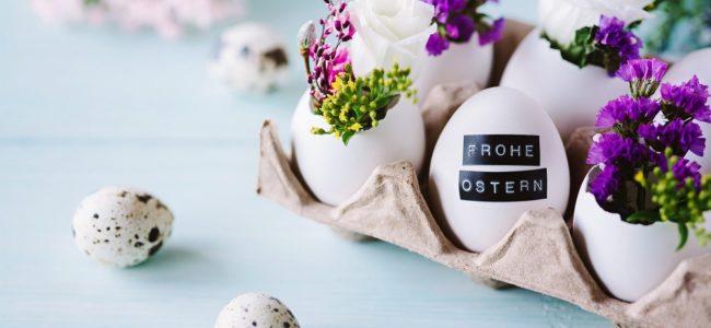 Osterdeko selber machen: 4 Ideen für das Osterfest