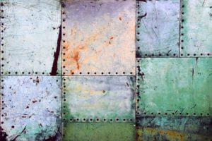 patina in verschiedenen farben