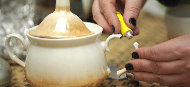 Porzellan reparieren: Tipps um Risse und Sprünge zu reparieren