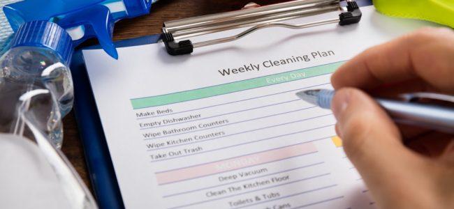 Putzplan erstellen: Tipps für Reinigungspläne für WGs und Familien