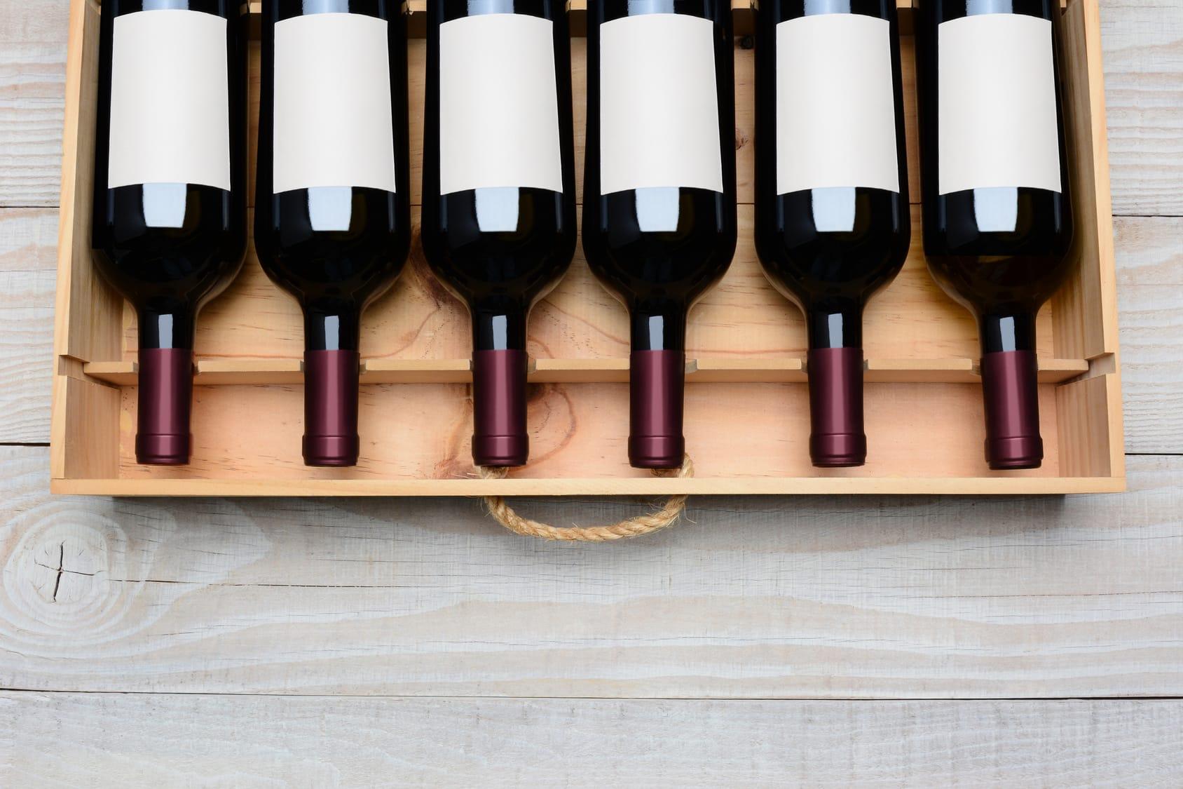 Rotwein lagern – Diese Regeln beachten