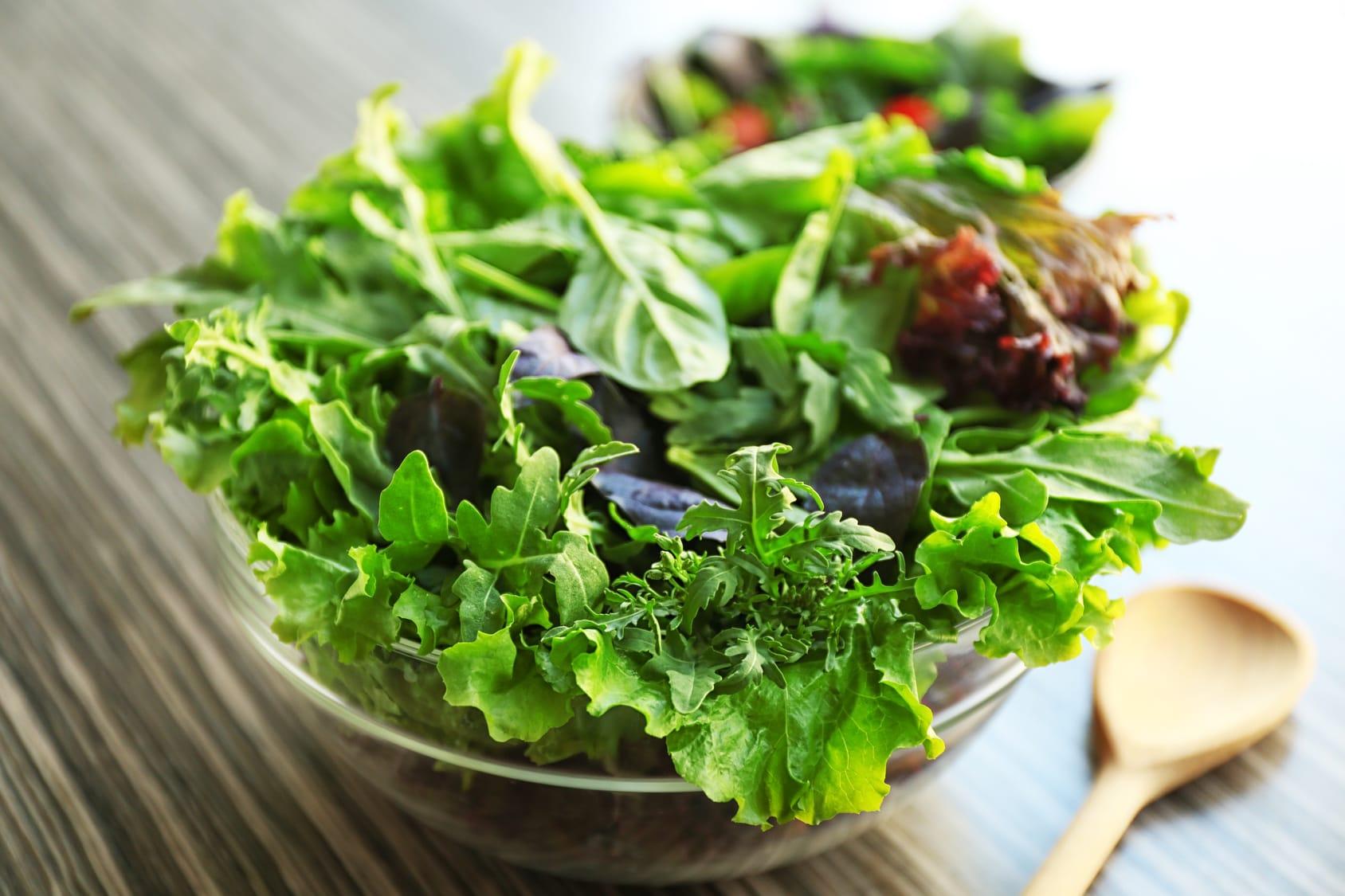 Verliert Salat beim Lagern Vitamine?