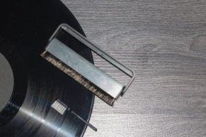 buersten zur reinigung von schallplatten