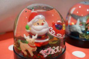 eine weihnachtliche diy-schneekugel