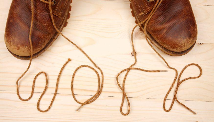 Schnürsenkel reparieren – 2 Tipps