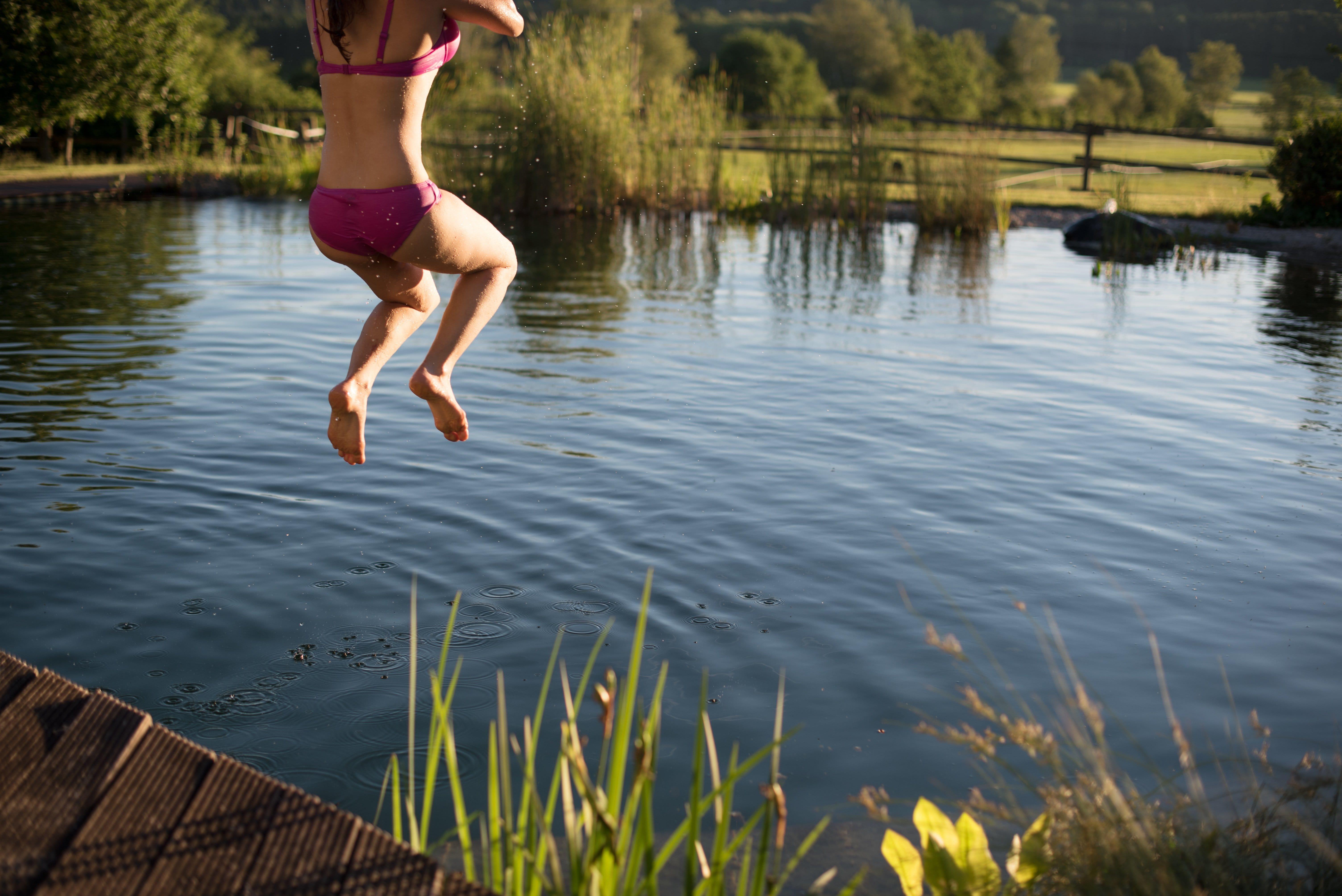 schwimmteich bauen - so geht's - haushaltstipps