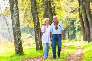 Spaziergang gegen Schlafstörungen im Alter
