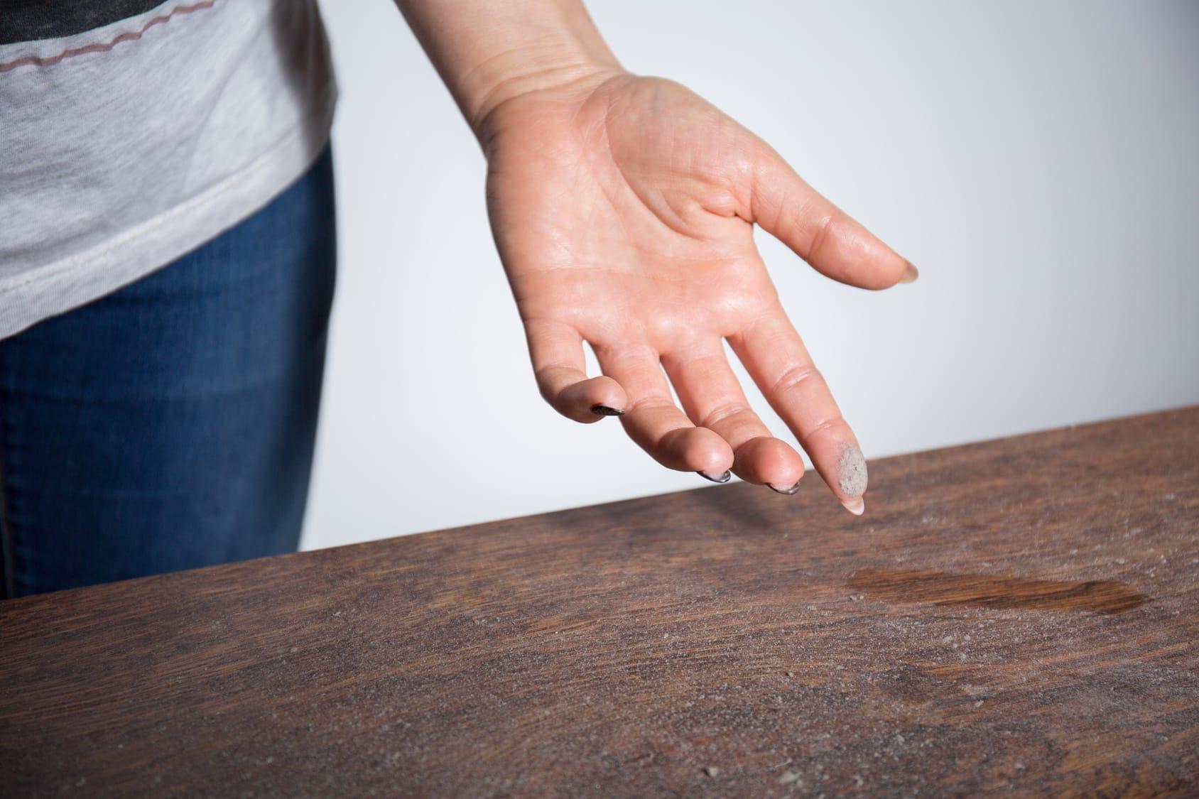 Staub in der Wohnung vermeiden - 5 Tipps & Tricks - Haushaltstipps.net