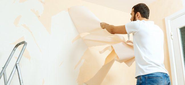 Tapete entfernen leicht gemacht: Hilfsmittel und Methoden