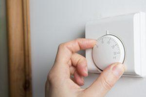 Schimmel vorbeugen durch Temperaturänderung