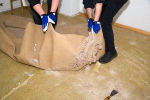 alten teppichboden entfernen