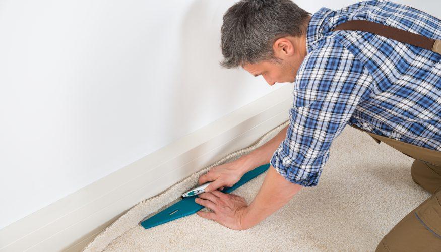 Teppich verlegen  Teppich verlegen leicht gemacht - In nur 6 Schritten zum Ziel ...