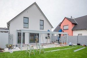 Terrassendach bauen.
