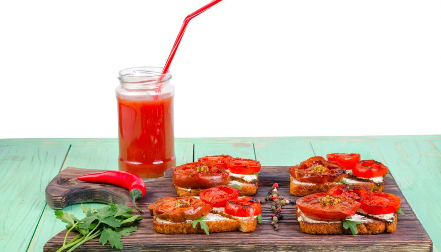 Tomatensaft entfernen – 8 Tipps & Tricks