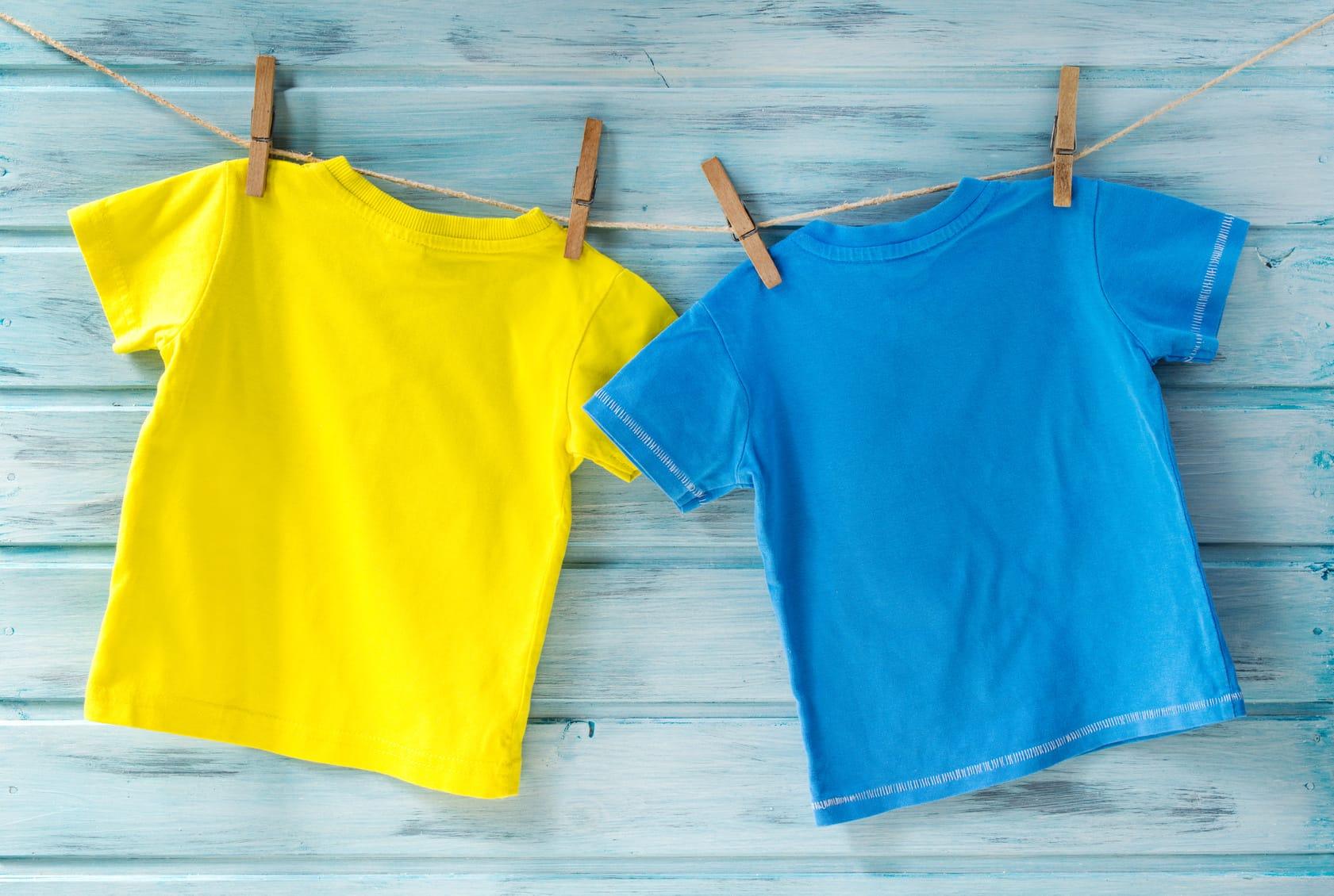 Verlieren T-Shirts in der Waschmaschine ihre Form?