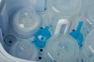 babyflaschen im vaporisator