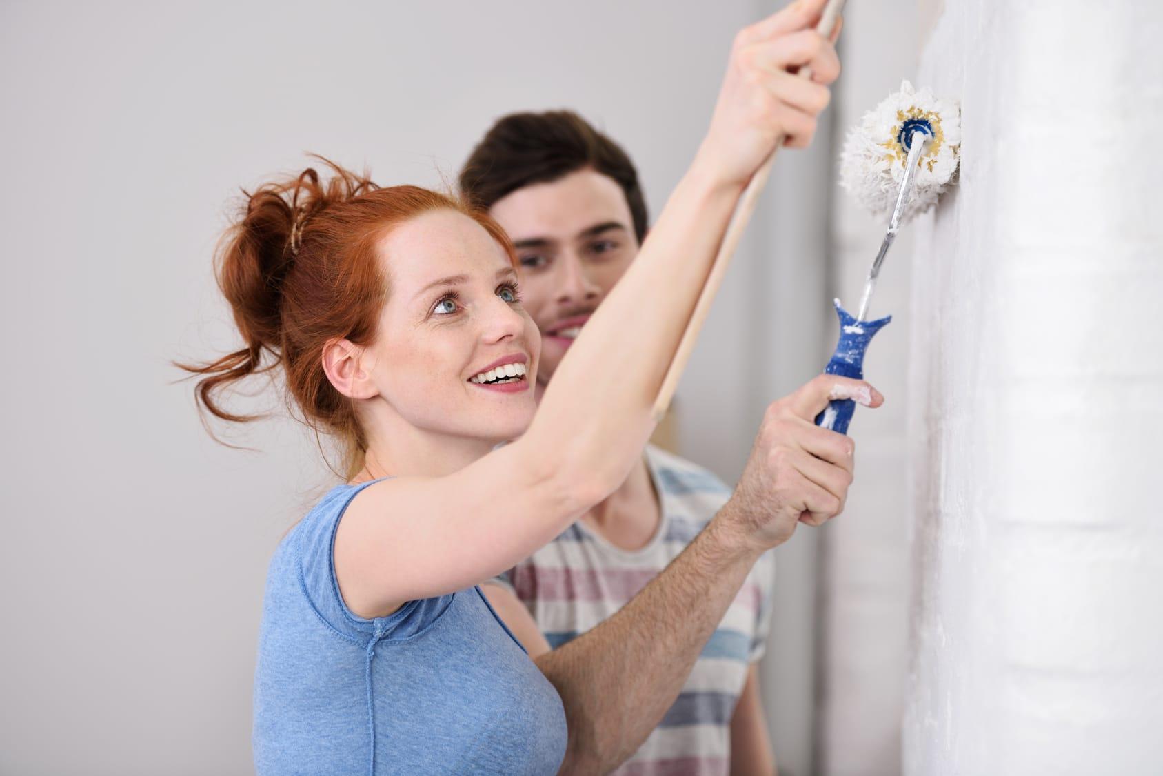 Hervorragend Wandfarbe entfernen - Tipps und Tricks - Haushaltstipps.net RA96