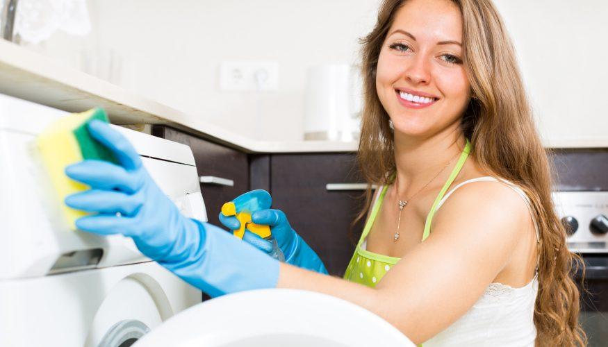 Waschmaschine reinigen – So geht's!