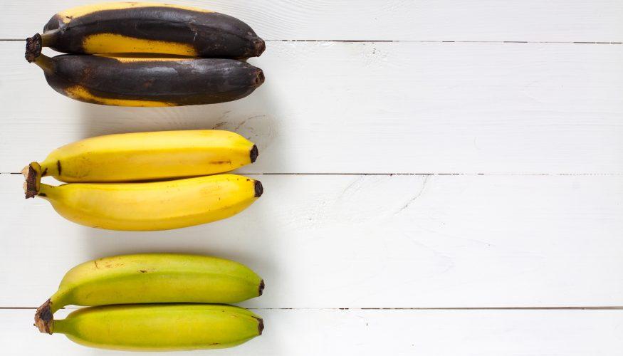 Wohin mit braunen Bananen?