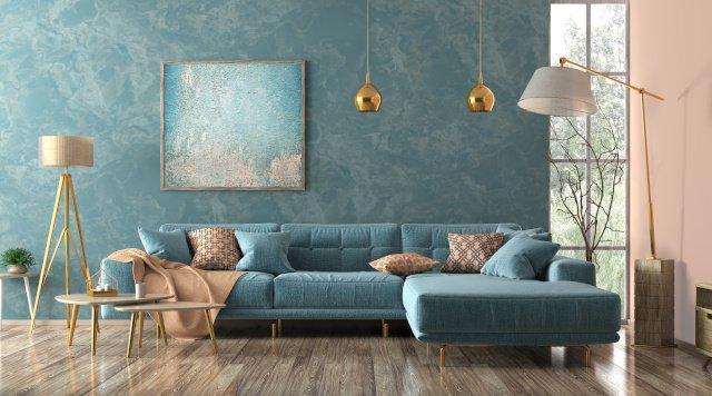 Wohnzimmer Tapete: Tipps und Ideen